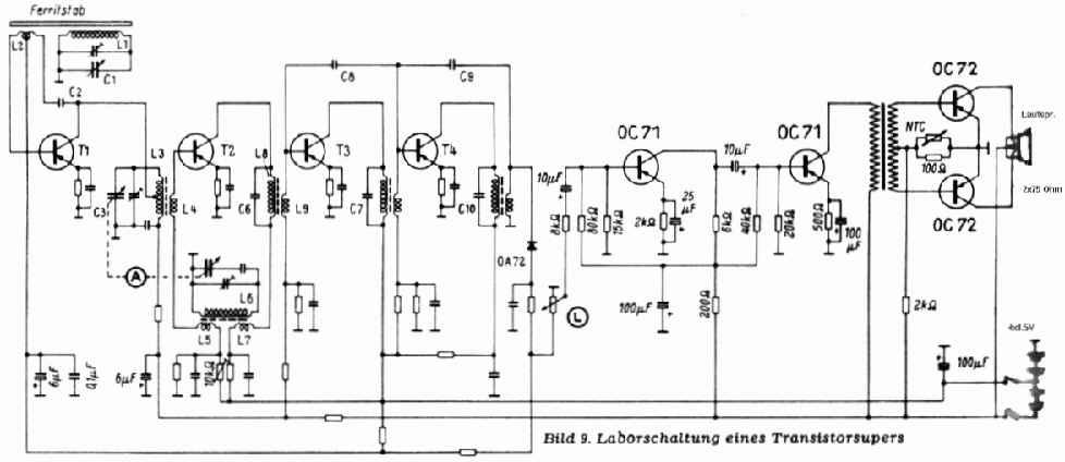 Transistorgeräte